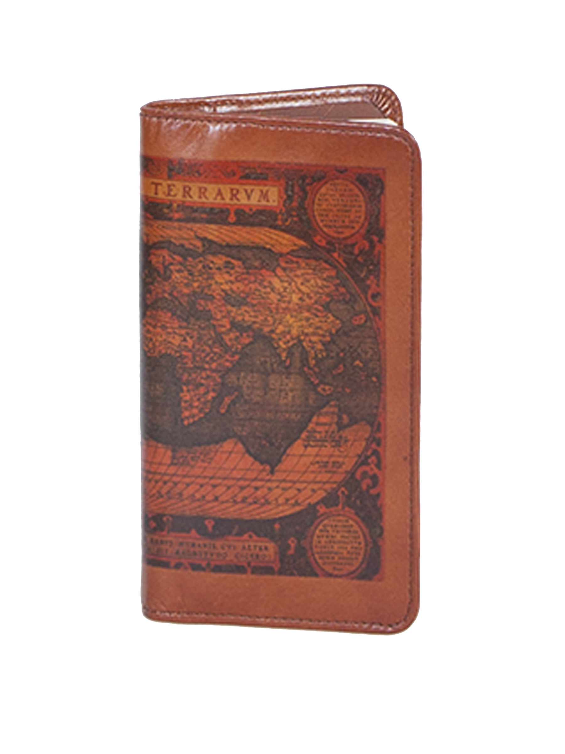 Leather pocket weekly planner