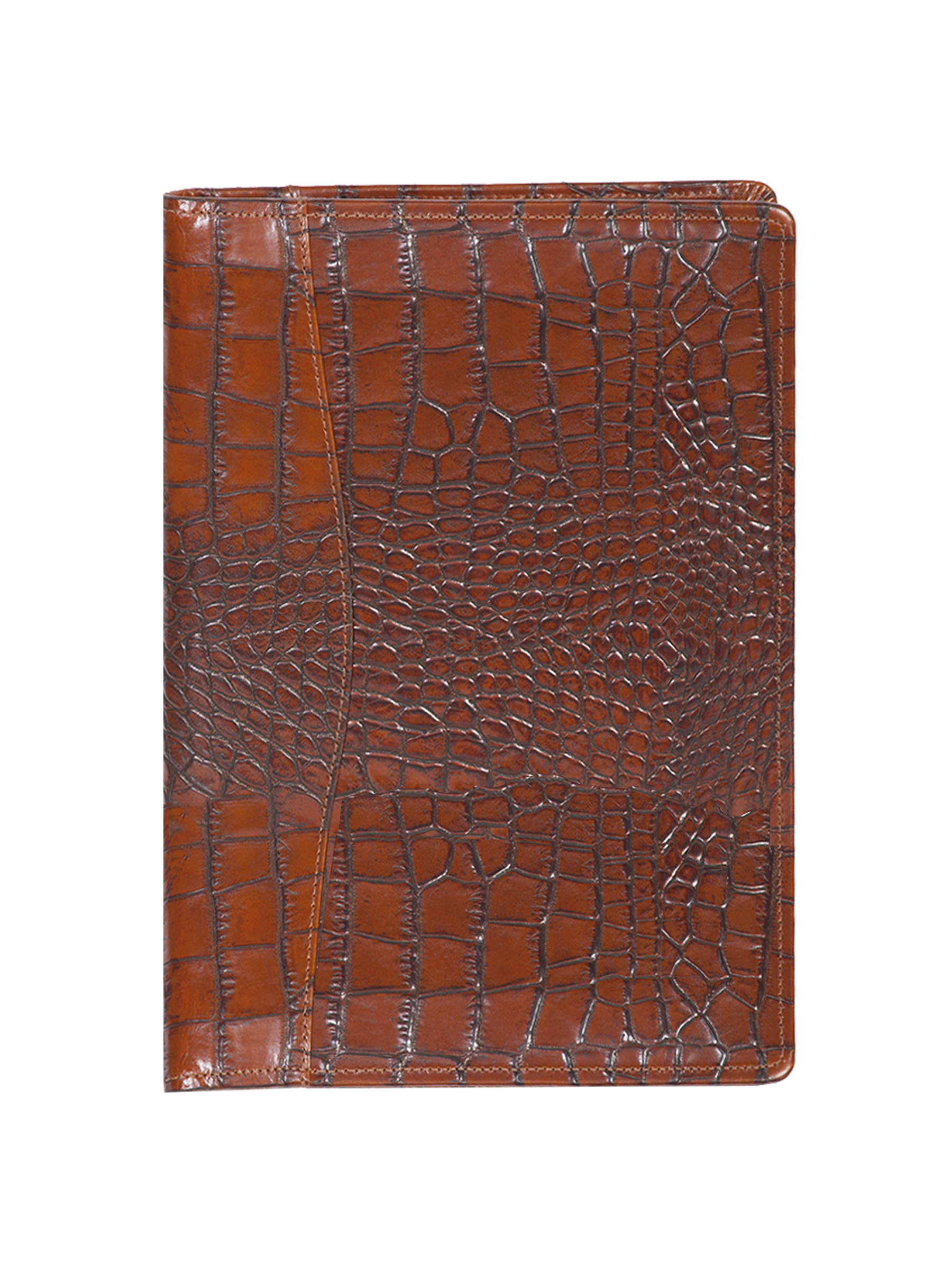 Leather ruled journal