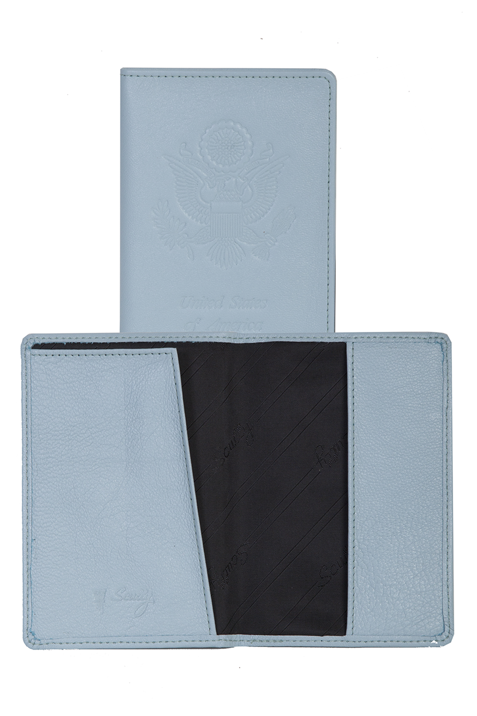 Lambskin passport cover