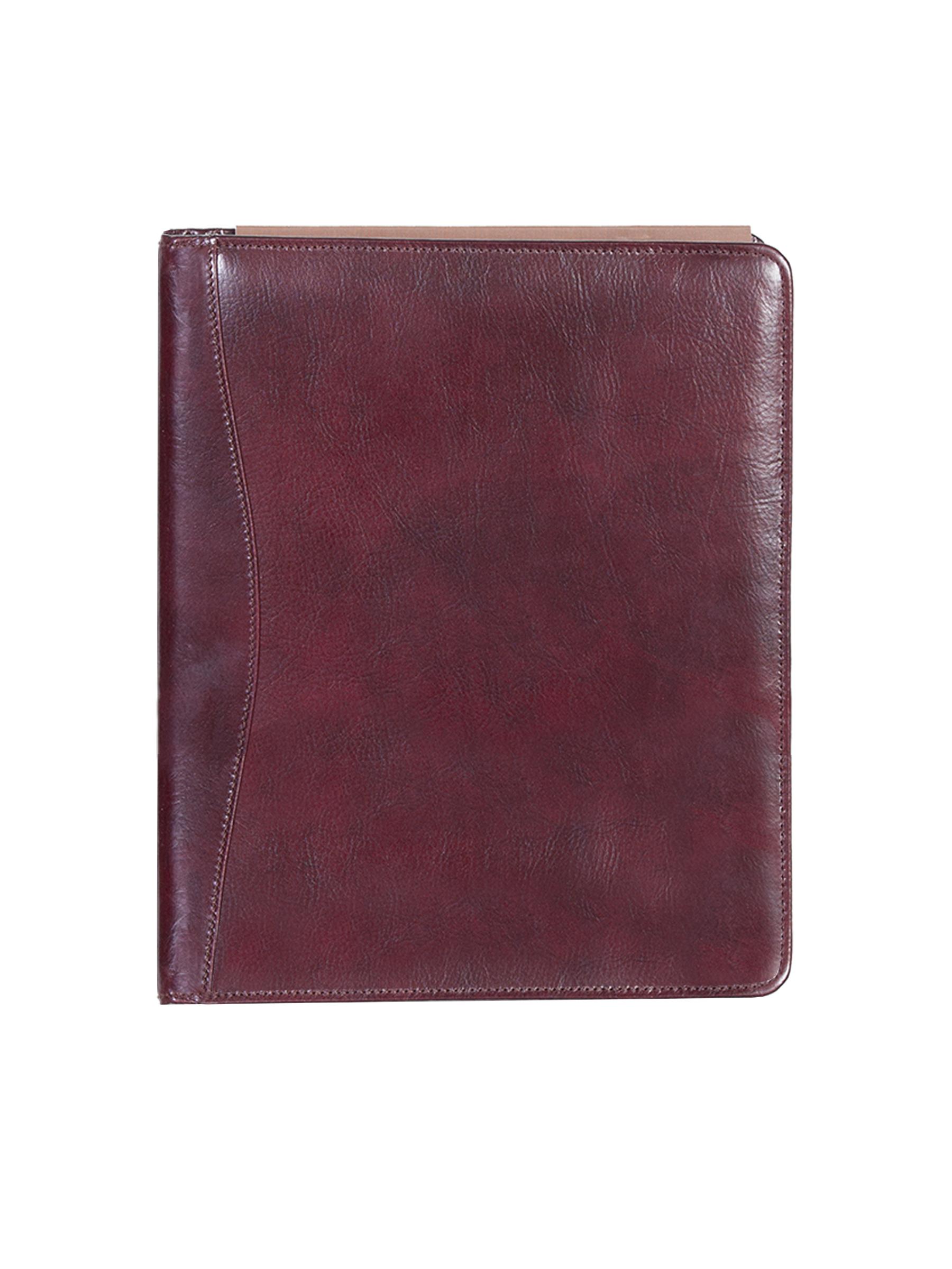 Leather 3 ring binder
