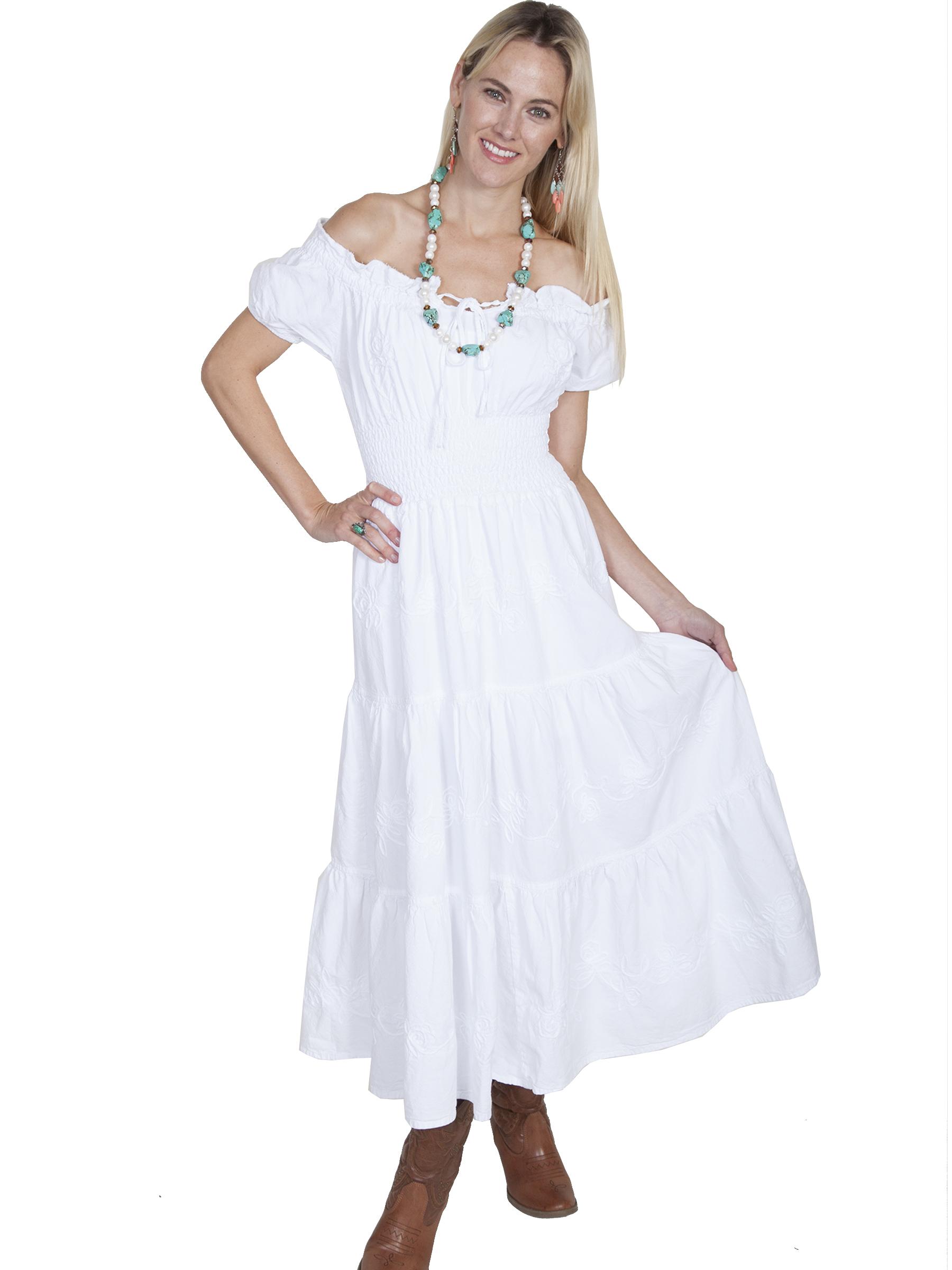 Cottton long dress