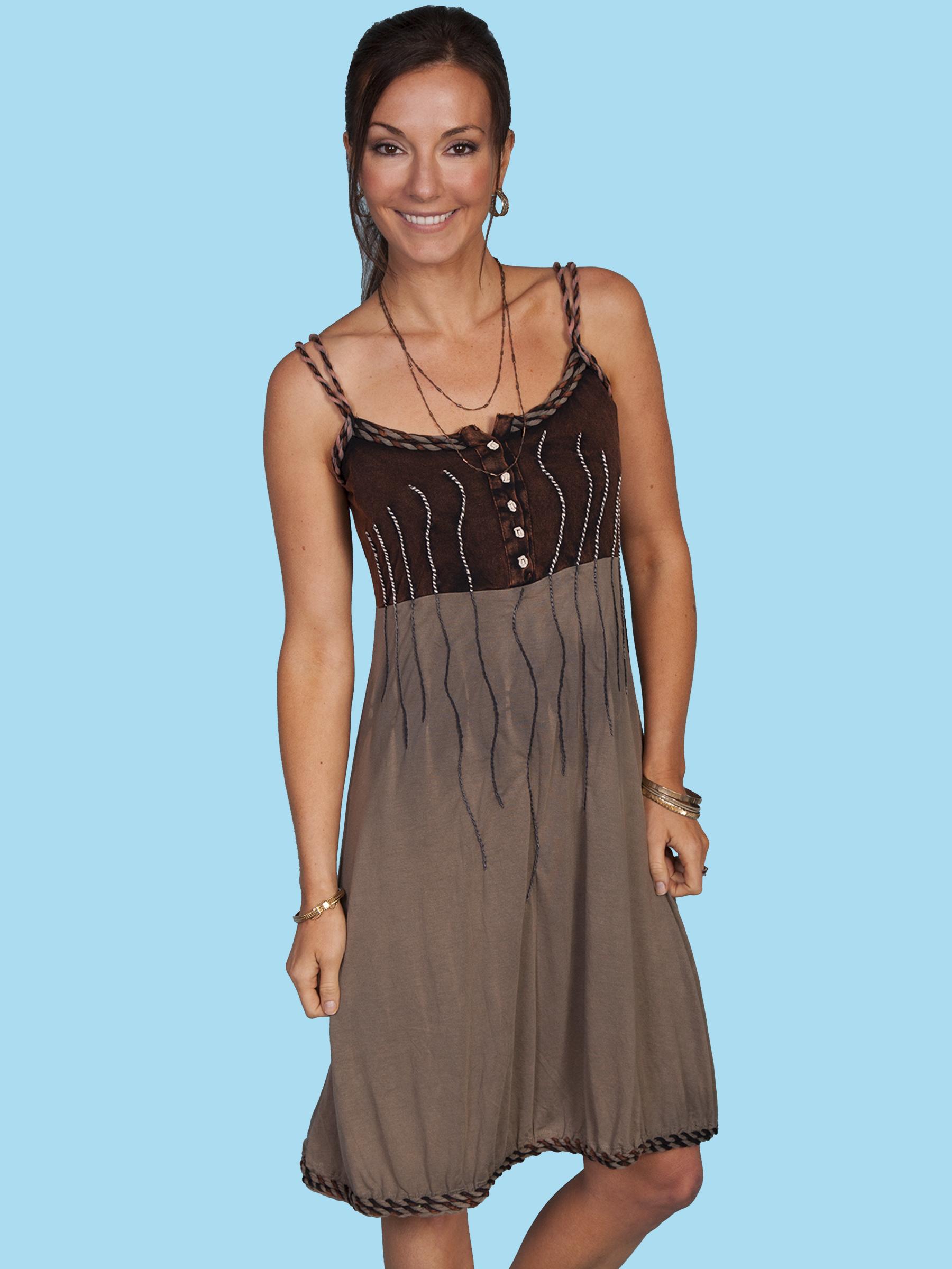 COTTON EMB. DRESS