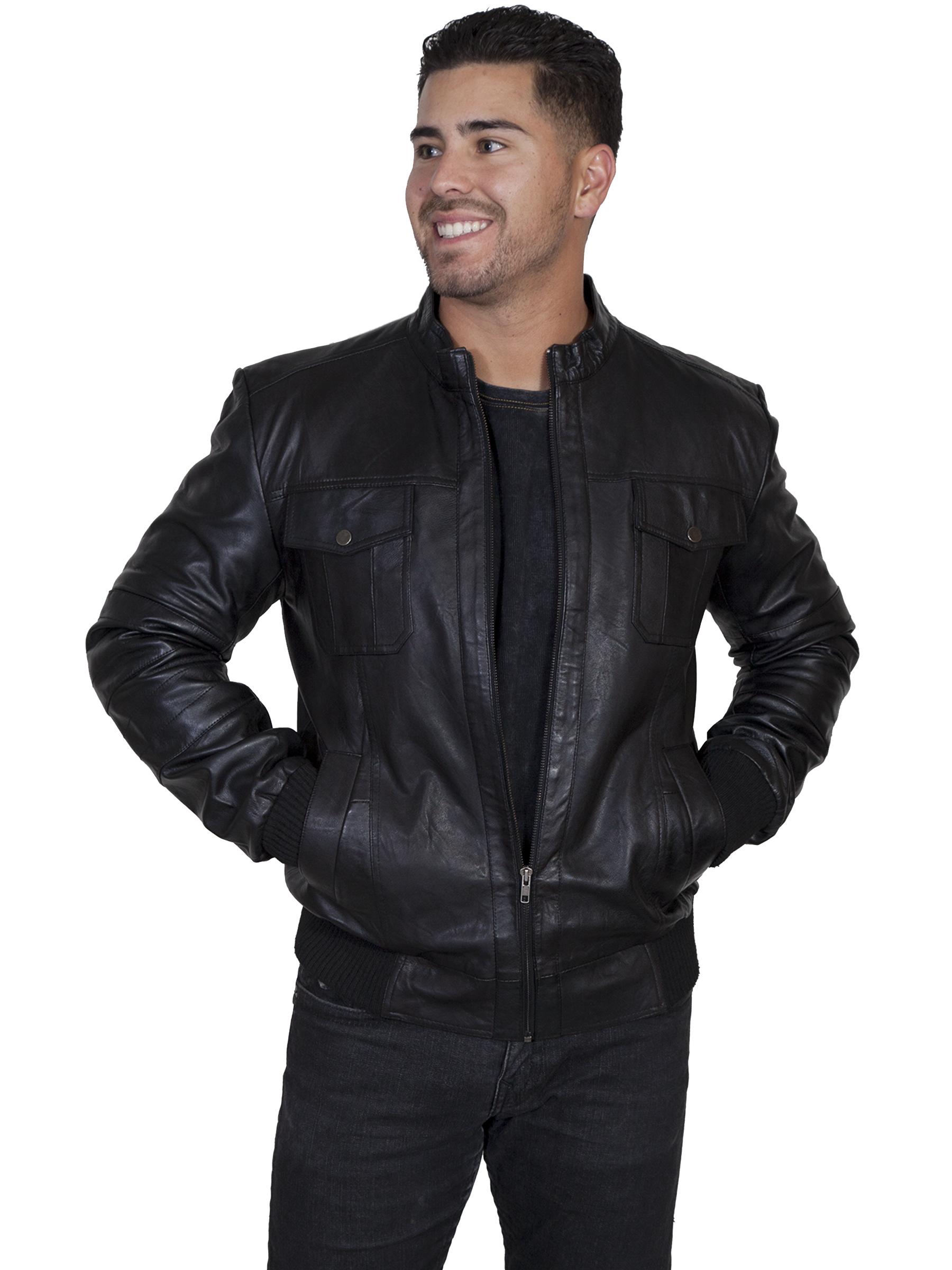 Black lamb jacket