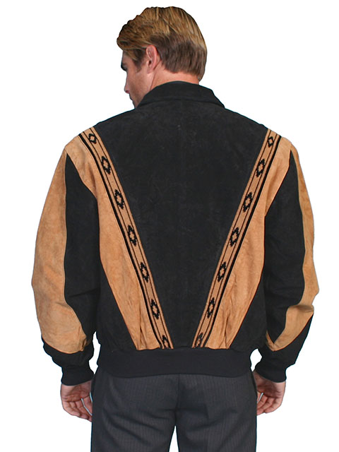 Scully Two Toned Boar Suede Rodeo Jacket