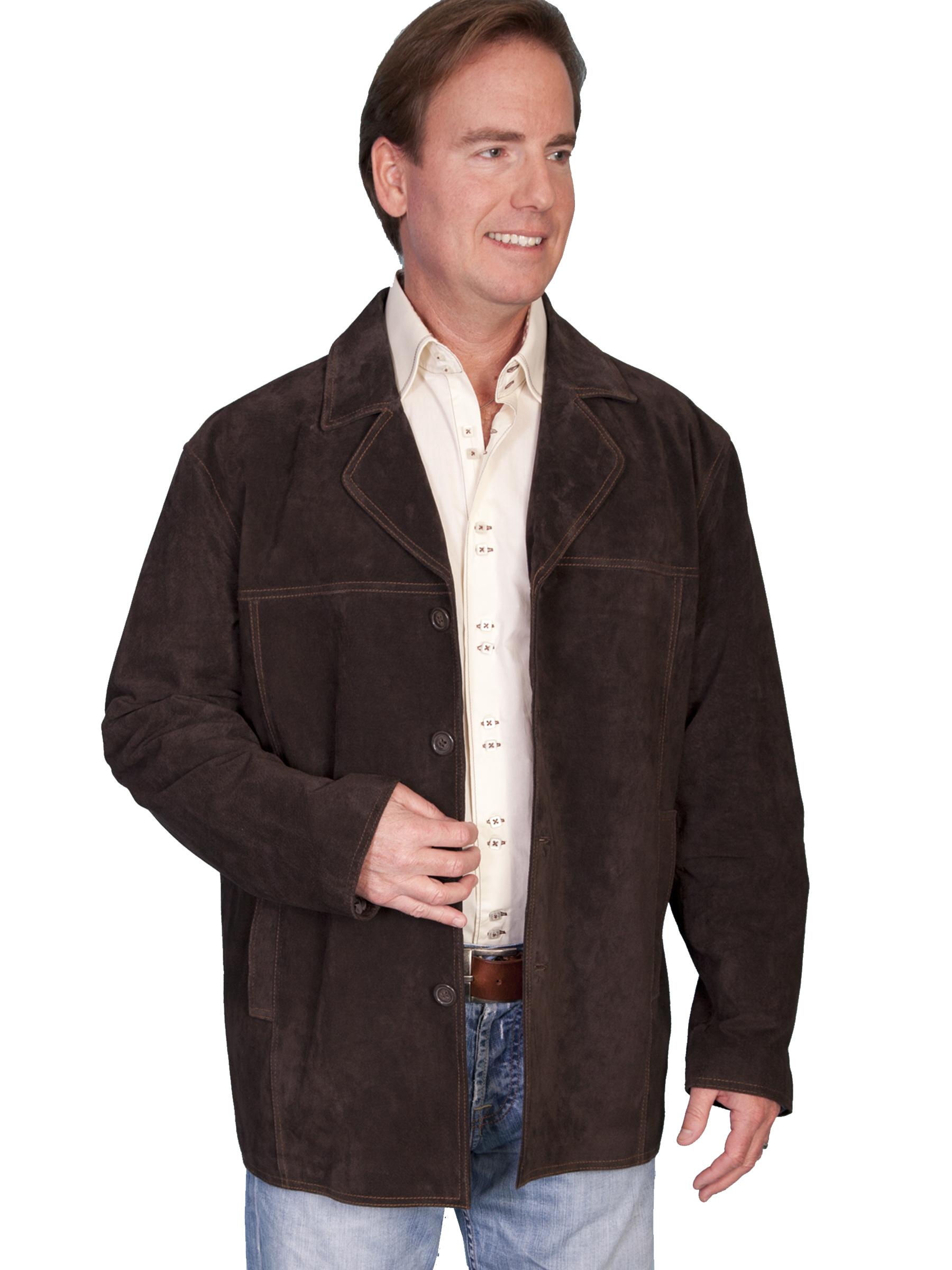 Boar suede car coat