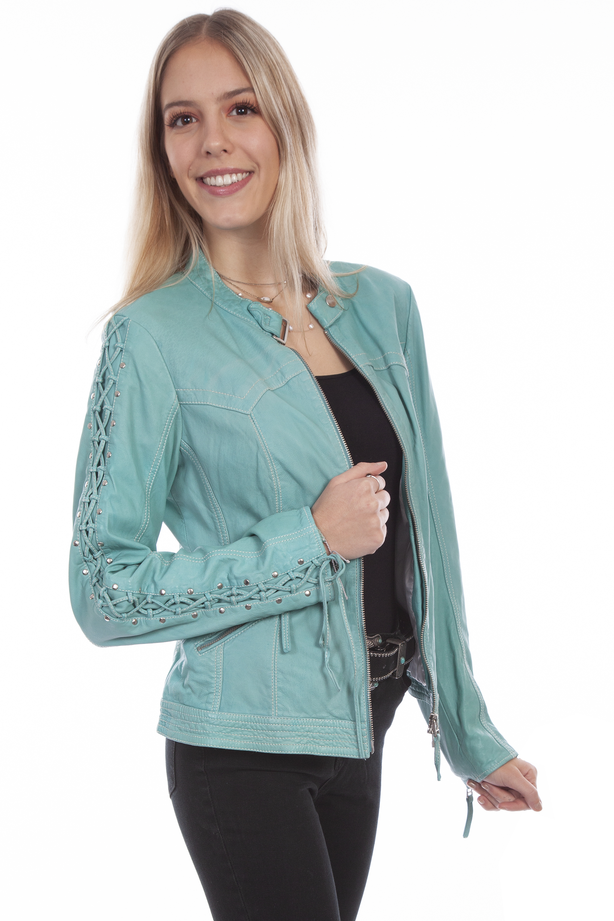 Scully Women's L411-254 Leather Jacket