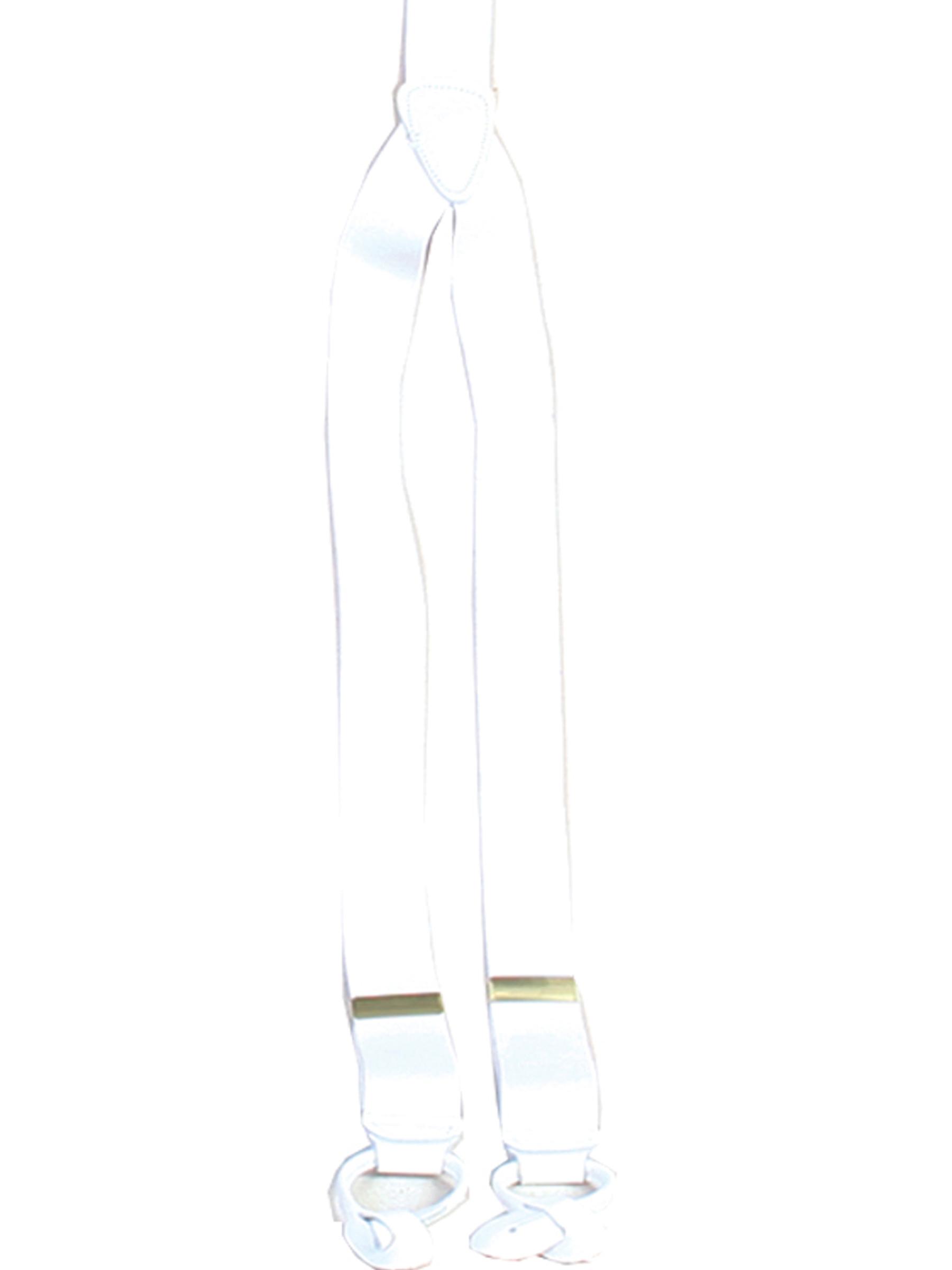 Elastic y-backed suspenders