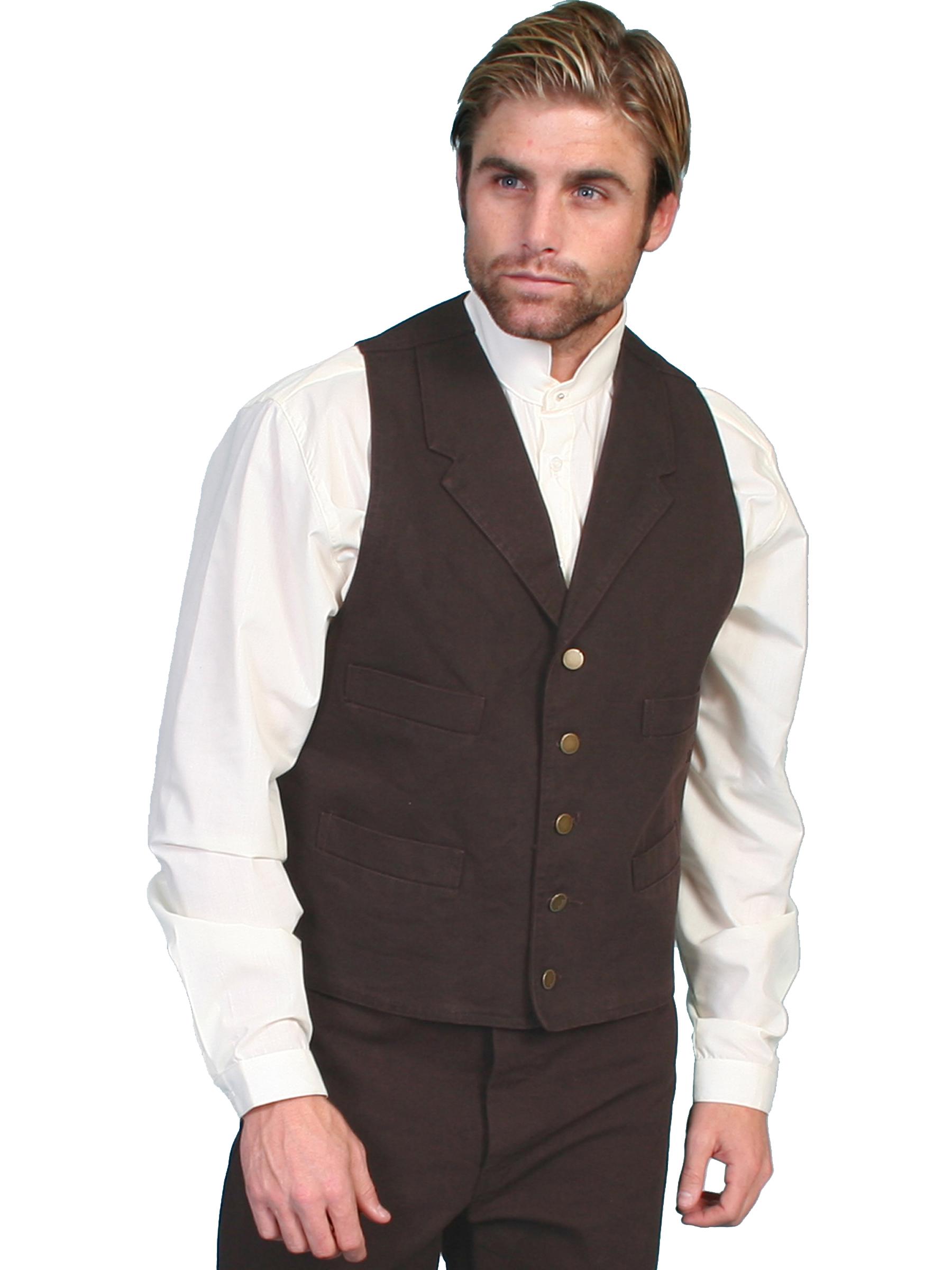 Durable 100% cotton canvas vest