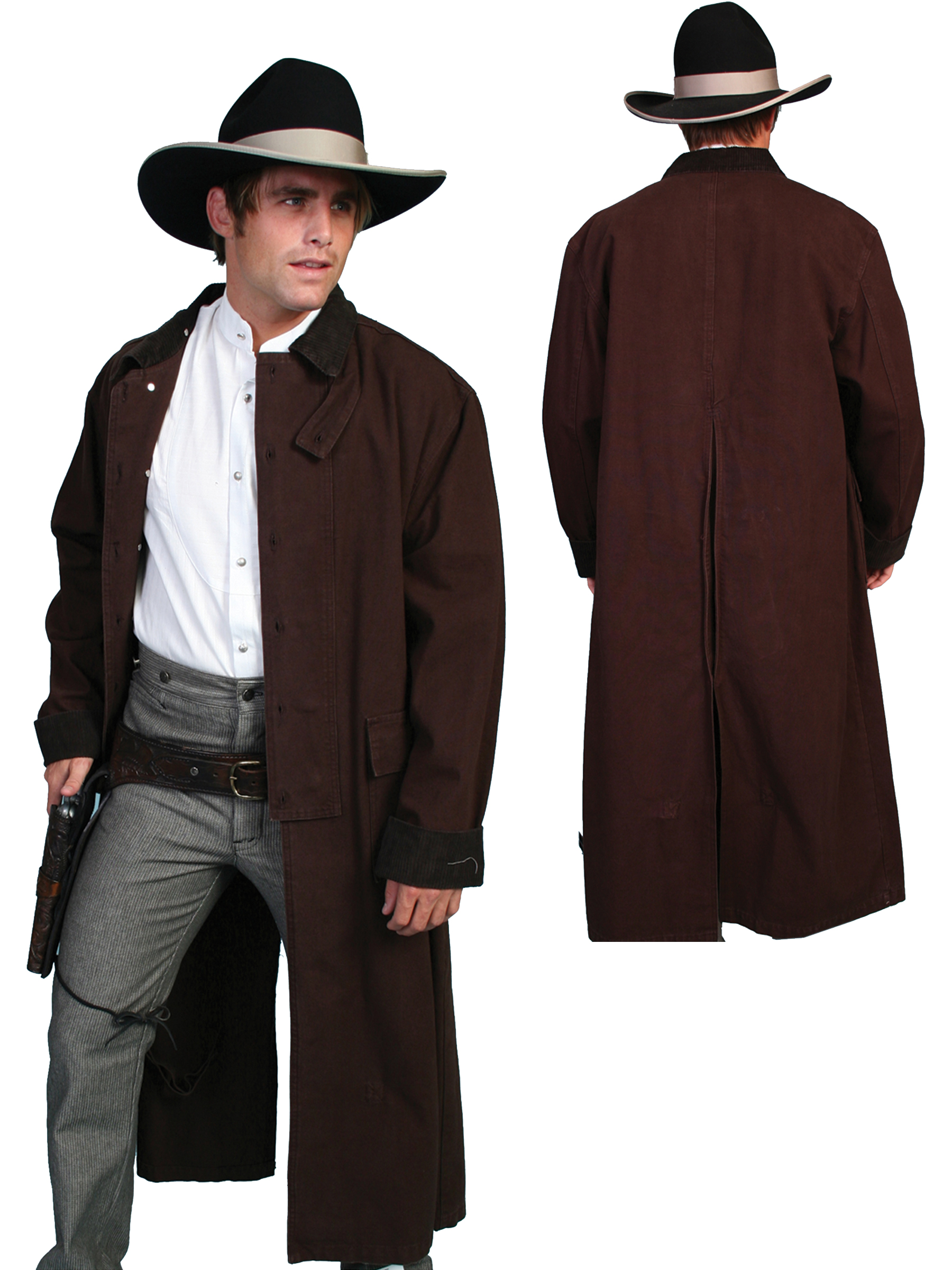 Classic canvas duster