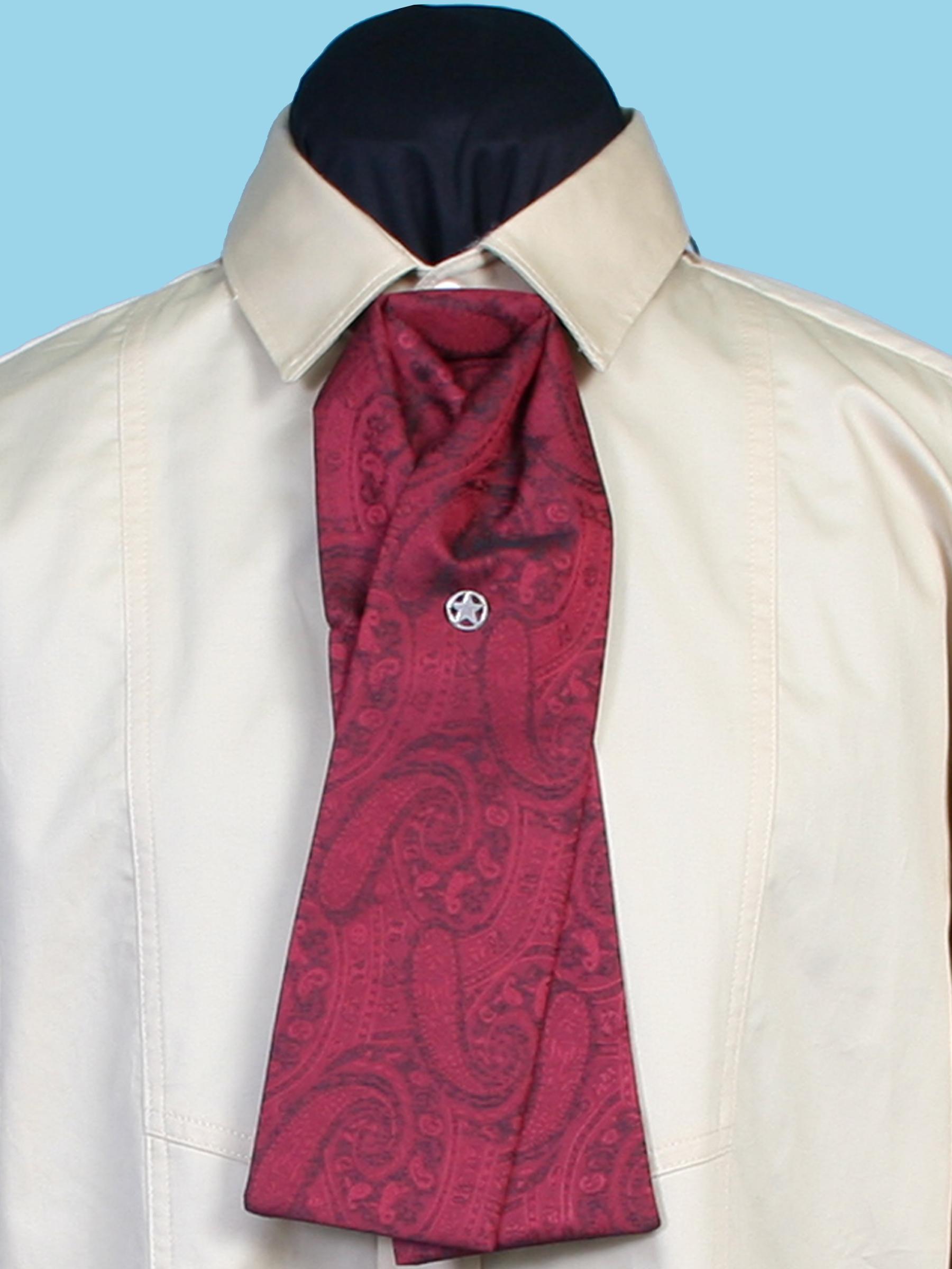 Paisley gentlemen's tie