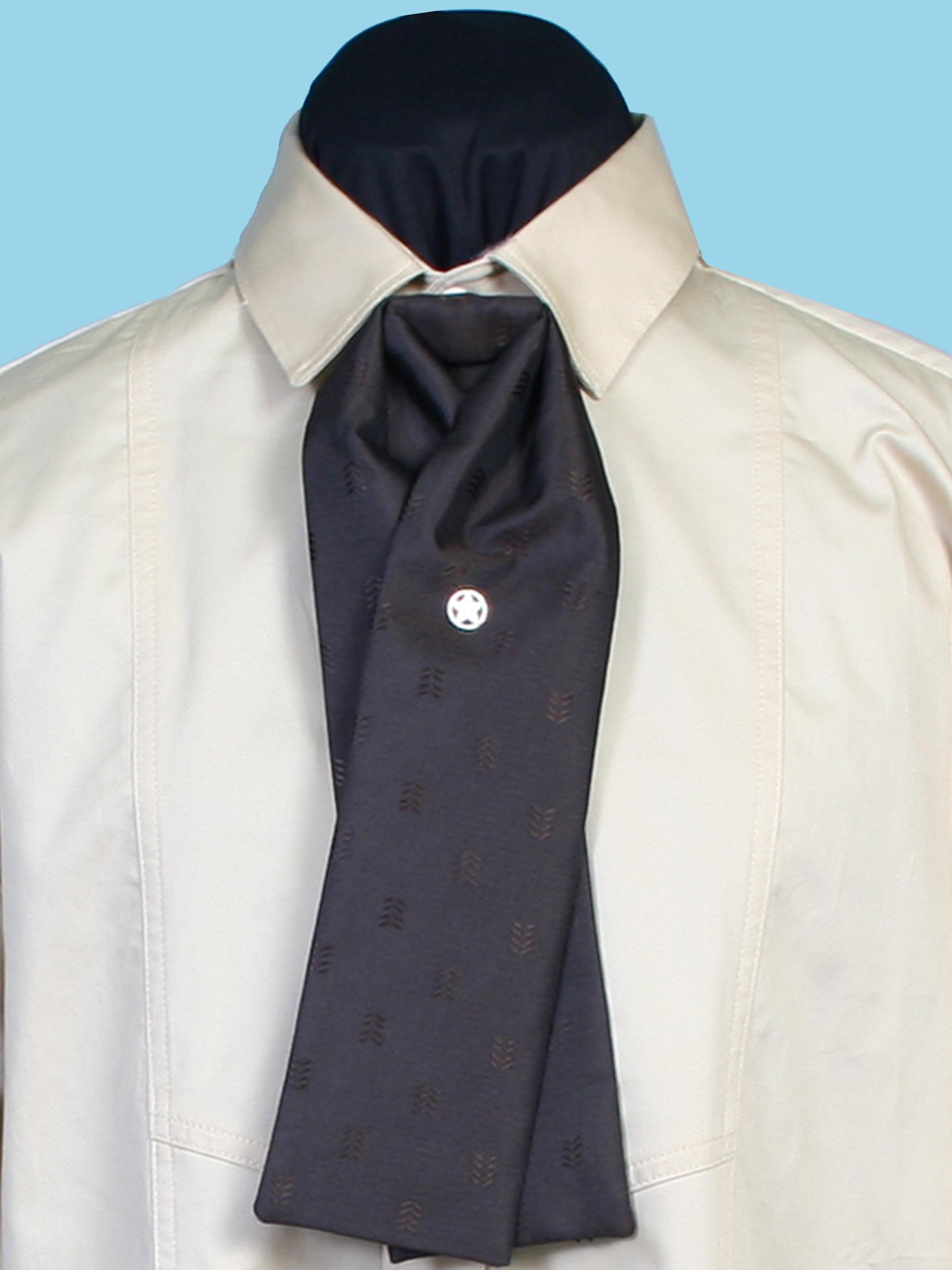 Chevron gentlemen's tie