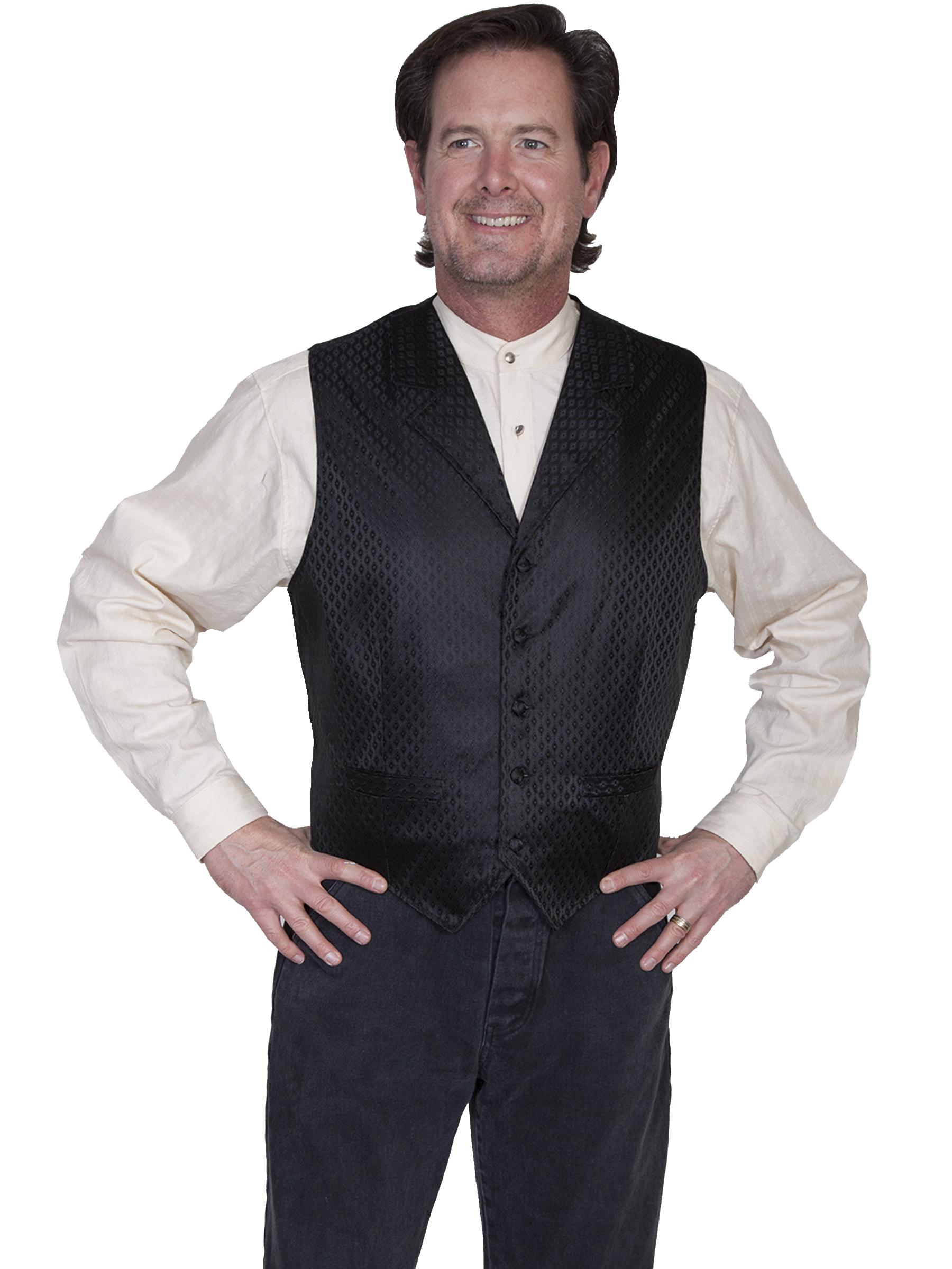 Diamond dot vest
