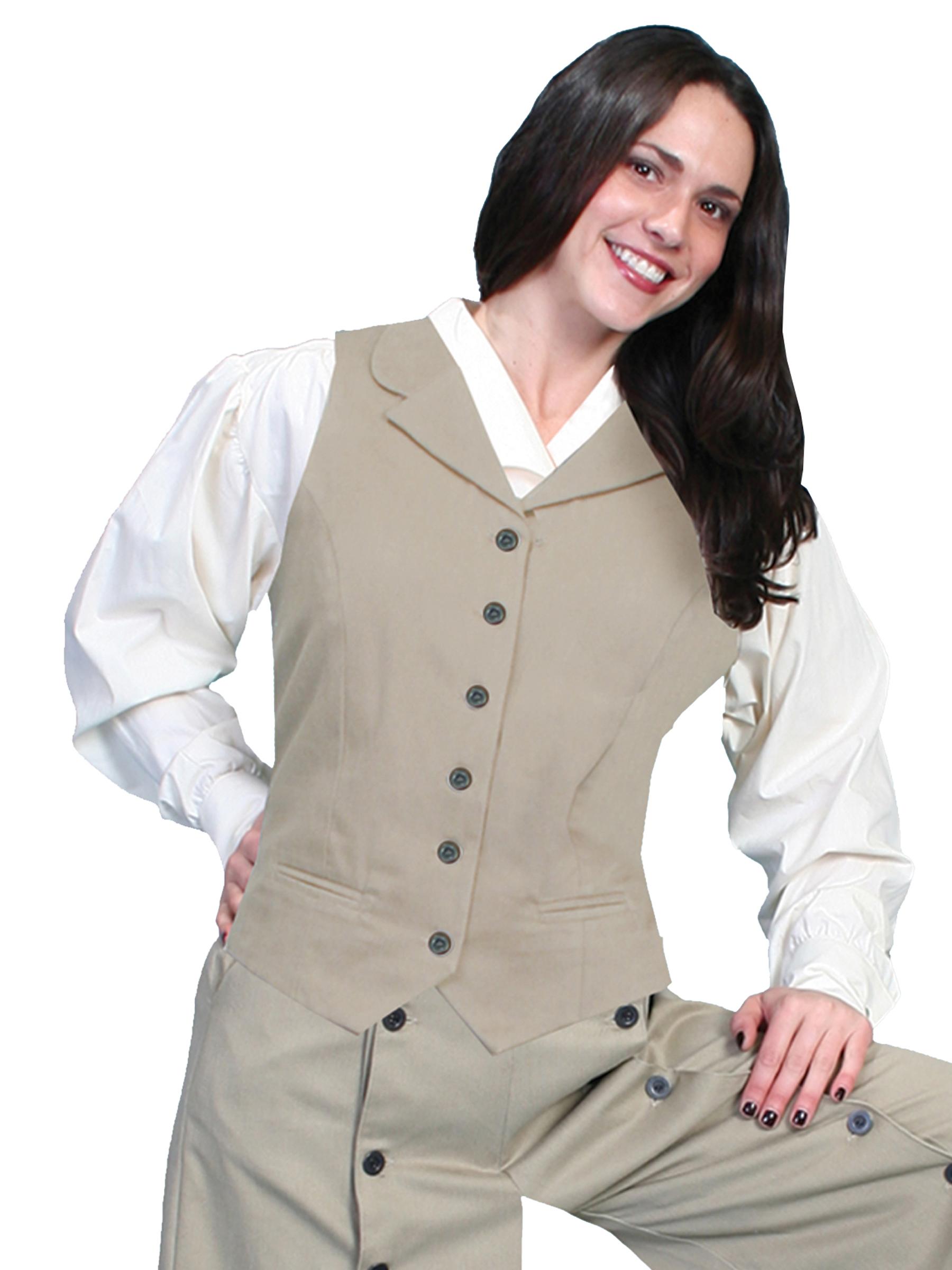 Classic victorian style vest