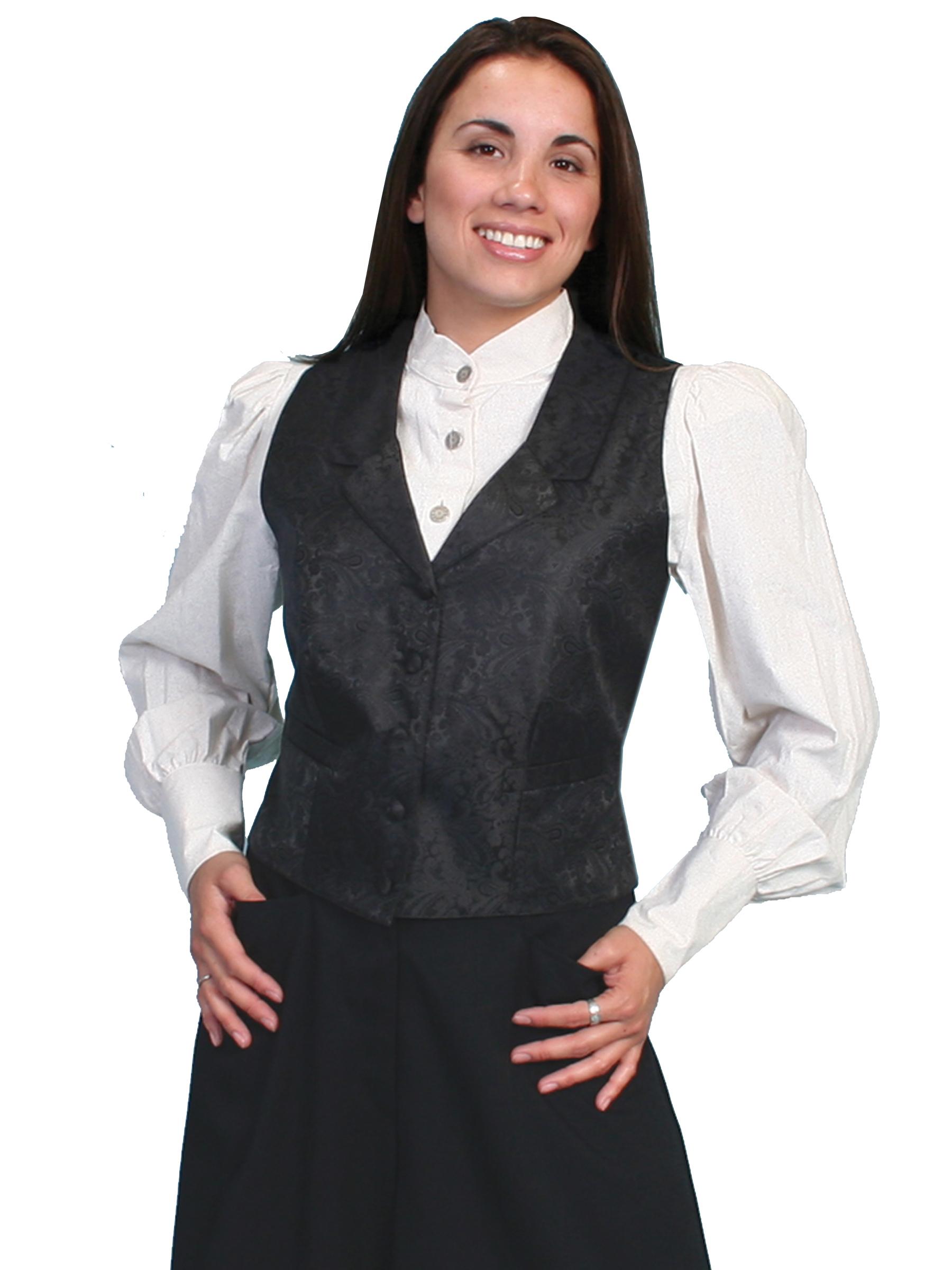 Paisley vest