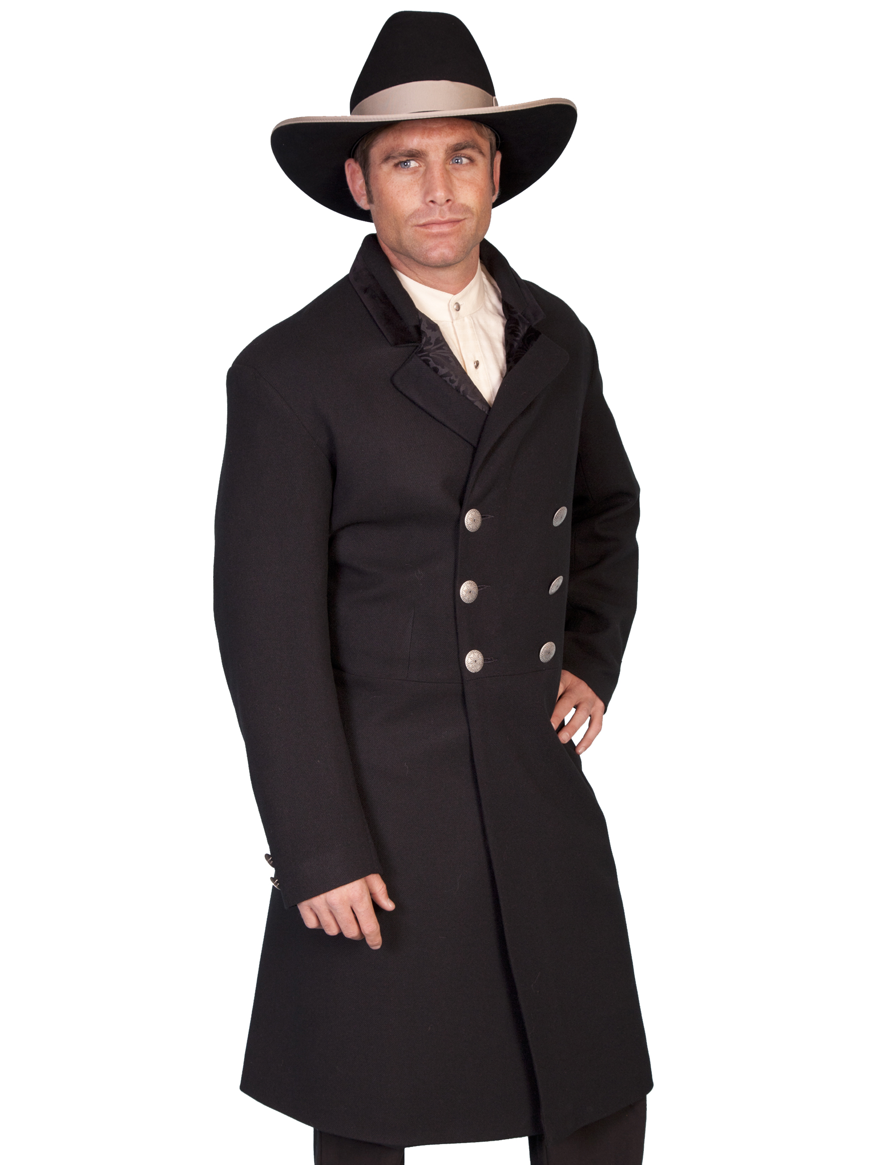 Double breasted frock coat