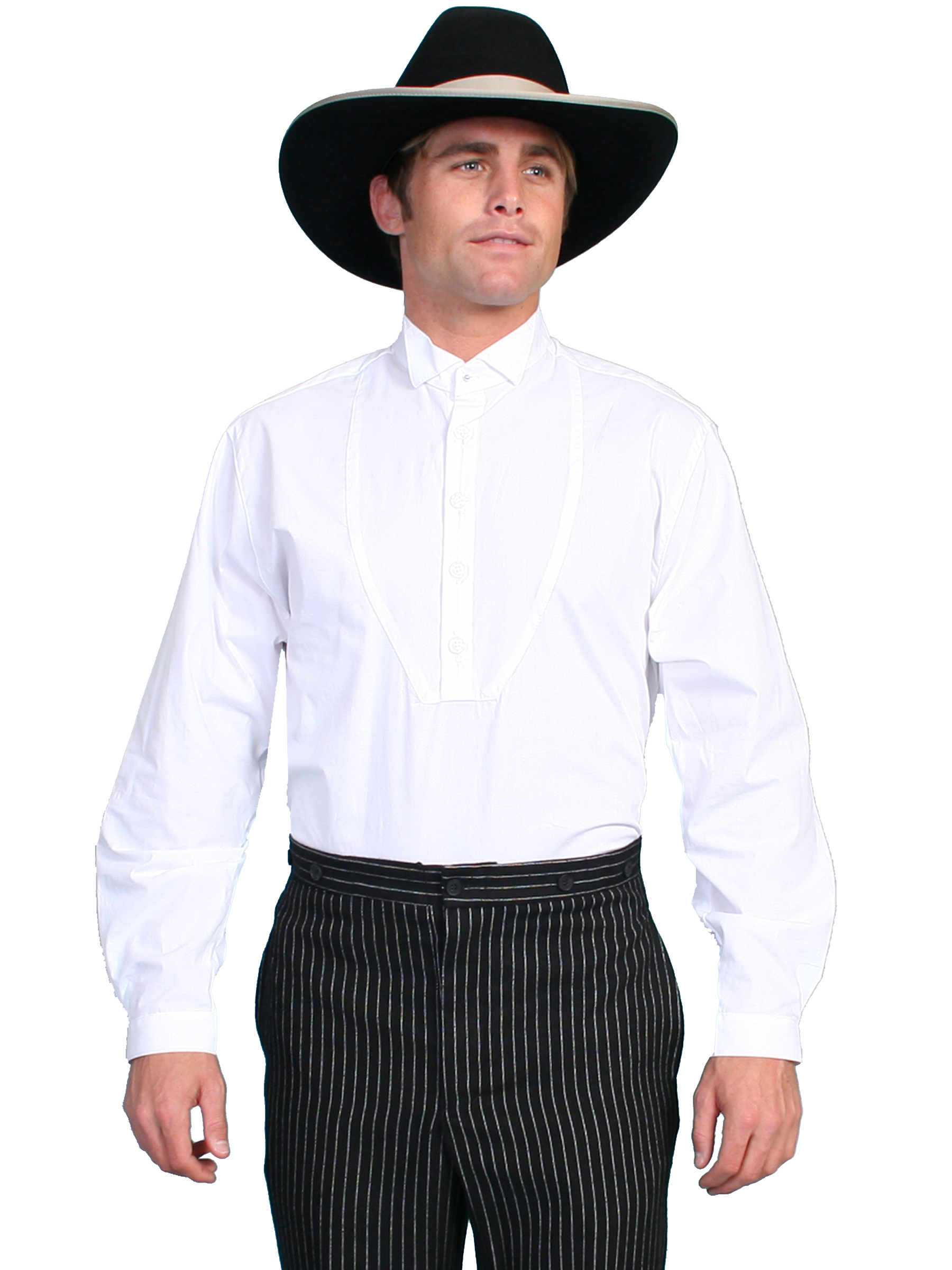 SOLID WING TIP SHIRT